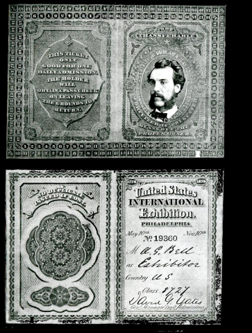 Black and White record of the United States International Exhibition in Philadelphia, May 10th.
