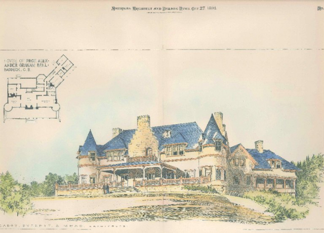 Color Drawing of the Estate