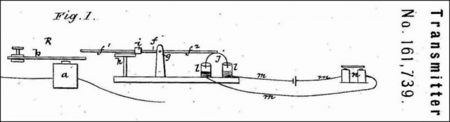 An Excerpt of the Patent for the Transmitter No 171,739