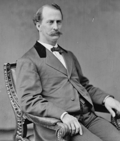 Black and White Picture of Edward Miner Gallaudet