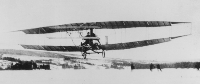 Flight of an early invention, the Silver Dart